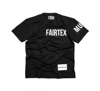 Футболка тренировочная Fairtex (TST-191 black)