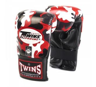 Тренировочные снарядные перчатки Twins Special (TBGL-1H army red)