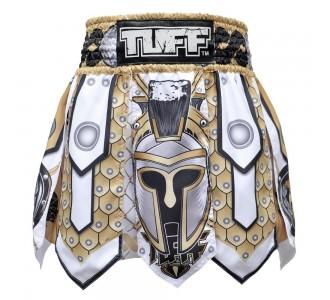 Шорты для тайского бокса TUFF гладиатор (MGS-101-WHT-S)