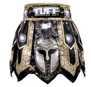 Шорты для тайского бокса TUFF гладиатор (MGS-101-BLK-S)