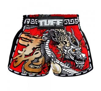 Шорты для тайского бокса TUFF ретро (MRS-205-RED-S)