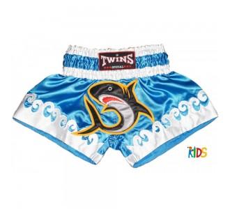 Детские шорты муай тай Twins Special (TBS-017 shark)