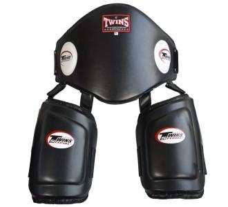 Пояс тренера и тренерские накладки Twins Special (BEPTL-1 black)
