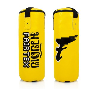 Детский боксерский мешок Fairtex (HBK-1 yellow)