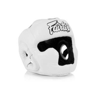 Детский боксерский шлем Fairtex (HGK-15 white)
