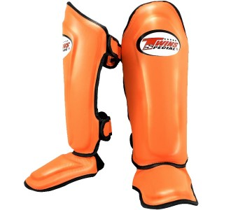 Детская защита голени Twins Special (SGL-10 orange)