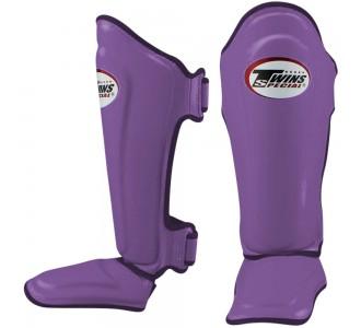 Детская защита голени Twins Special (SGL-10 violet)