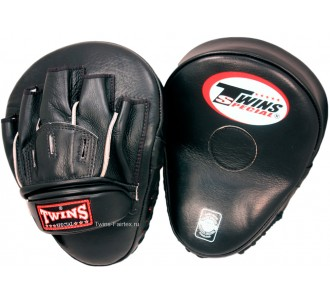 Боксерские ударные лапы Twins Special (PML-10 black)
