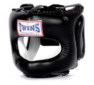 Шлем боксерский Twins Special (HGL-10 black)