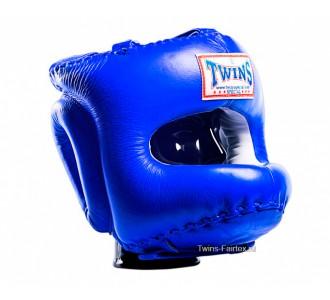 Шлем боксерский Twins Special (HGL-10 blue)