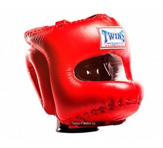 Шлем боксерский Twins Special (HGL-10 red)