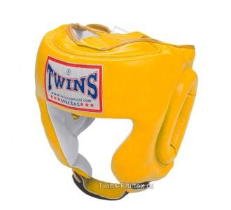 Шлем боксерский Twins Special (HGL-2 yellow)