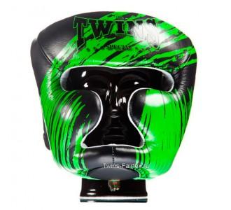 Детский боксерский шлем Twins Special (HGL-3 TW2 black-green)