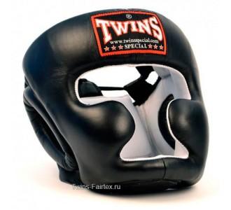 Шлем боксерский Twins Special (HGL-3 black)
