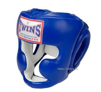 Шлем боксерский Twins Special (HGL-3 blue)