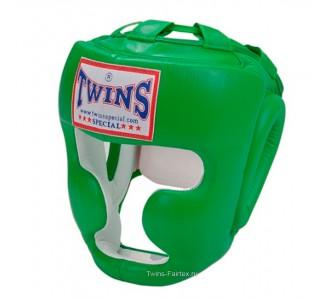 Шлем боксерский Twins Special (HGL-3 green)