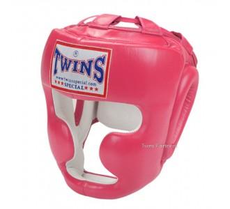 Шлем боксерский Twins Special (HGL-3 pink)
