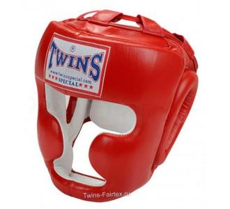 Шлем боксерский Twins Special (HGL-3 red)