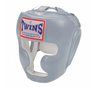 Шлем боксерский Twins Special (HGL-3 silver)