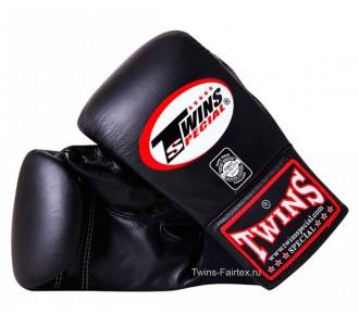 Тренировочные снарядные перчатки Twins Special (TBGL-1F black)