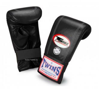 Тренировочные снарядные перчатки Twins Special (TBGL-1H black)