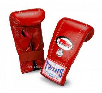 Тренировочные снарядные перчатки Twins Special (TBGL-1H red)