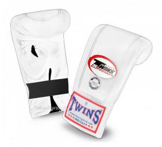 Тренировочные снарядные перчатки Twins Special (TBGL-1H white)