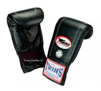 Тренировочные снарядные перчатки Twins Special (TBGL-2F black)