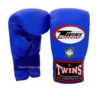 Тренировочные снарядные перчатки Twins Special (TBGL-2H blue)