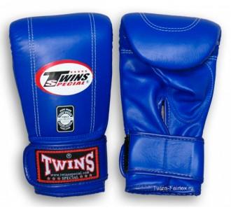 Тренировочные снарядные перчатки Twins Special (TBGL-3F blue)