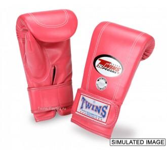 Тренировочные снарядные перчатки Twins Special (TBGL-3F pink)