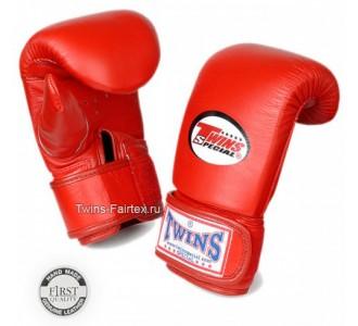 Тренировочные снарядные перчатки Twins Special (TBGL-3F red)