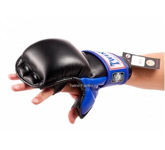 ММА перчатки Twins Special (GGL-1 blue)