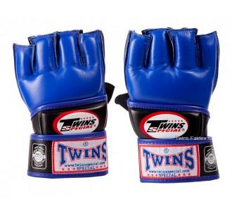 ММА перчатки Twins Special (GGL-3 blue)