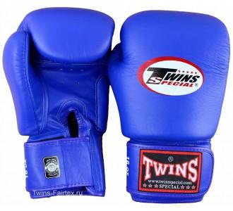 Детские боксерские перчатки Twins Special (BGVL-3 blue)