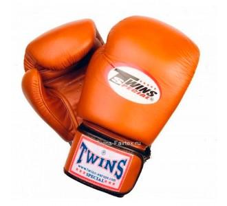 Детские боксерские перчатки Twins Special (BGVL-3 brown)