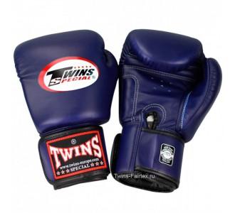 Детские боксерские перчатки Twins Special (BGVL-3 dark blue)
