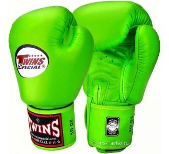 Детские боксерские перчатки Twins Special (BGVL-3 light green)