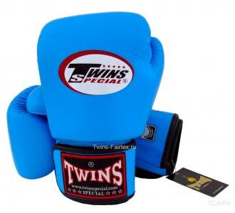 Детские боксерские перчатки Twins Special (BGVL-3 light blue)