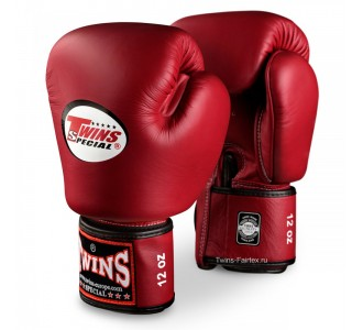 Детские боксерские перчатки Twins Special (BGVL-3 maroon)