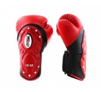 Боксерские перчатки Twins Special (BGVL-6-MK black/red)