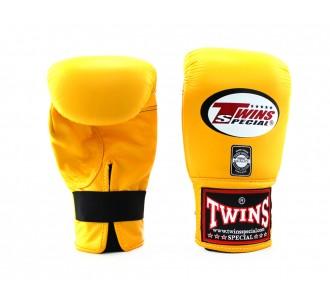 Тренировочные снарядные перчатки Twins Special (TBGL-1F yellow)