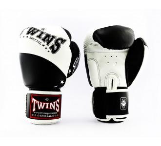 Боксерские перчатки Twins Special (BGVL-10 black/white)