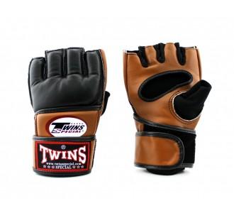 ММА перчатки Twins Special (GGL-4 brown/black)
