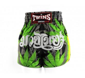 Шорты для тайского бокса Twins Special (TBS-Grass)