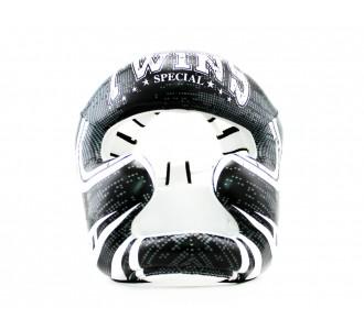 Шлем боксерский Twins Special (FHGL-3 TW5 black/white)