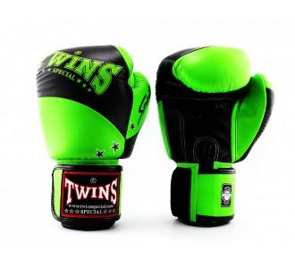 Боксерские перчатки Twins Special (BGVL-10 black/green)