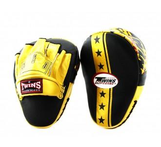 Боксерские ударные лапы Twins Special (FPML-10-51 gold Star Edition)