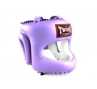 Шлем боксерский Twins Special (HGL-10 lavender)