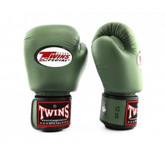 Детские боксерские перчатки Twins Special (BGVL-3 olive)